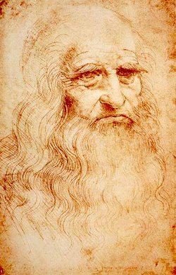 <b>Leonardo da Vinci'nin kendi portresi</b>