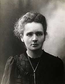 <p>Marie Curie