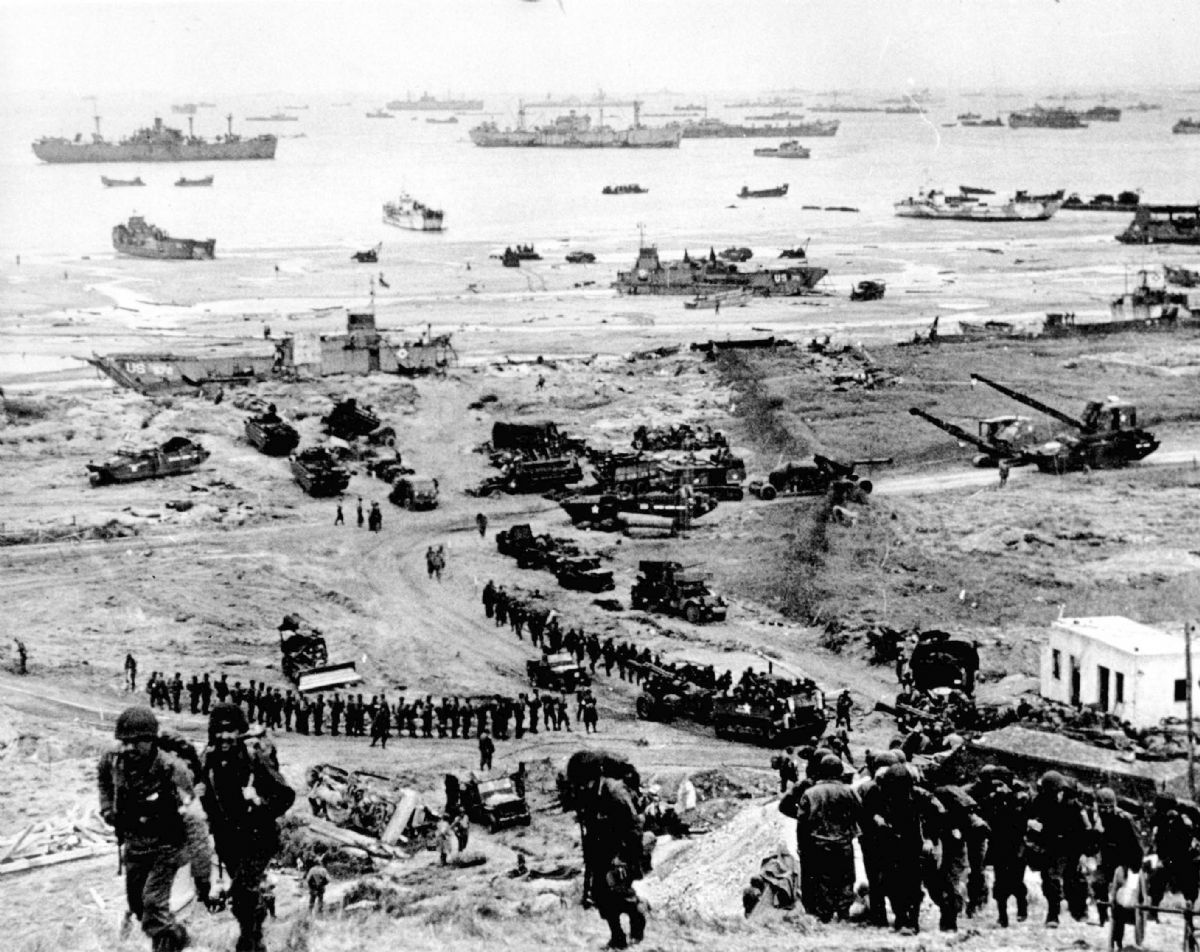 DDay The Invasion of Normandy  World War II History